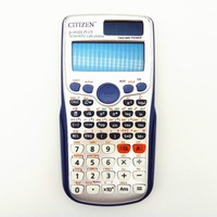991ES Plus Scientific Calculator Dual Power With 417 Function Calculadora Cientifica As Gift 8 Different Languages