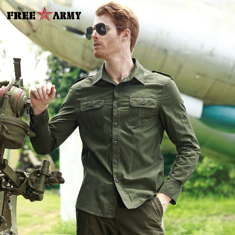 ARMY High Quality Basic Shirts
