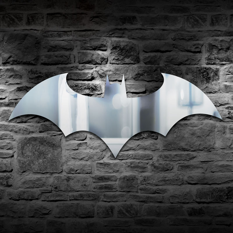 Batman Projection Night Light RGB Color Changing LED Bar Party Decoration Mirror Wall Lamp Batman Symbol Novelty Ambient Lamps