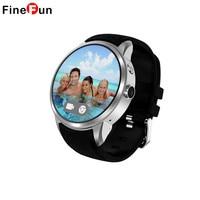 FineFun X200 Bluetooth Waterproof Smart Watch Android Relogio Smartwatch Phone 3G WCDMA GPS Wifi Google Play
