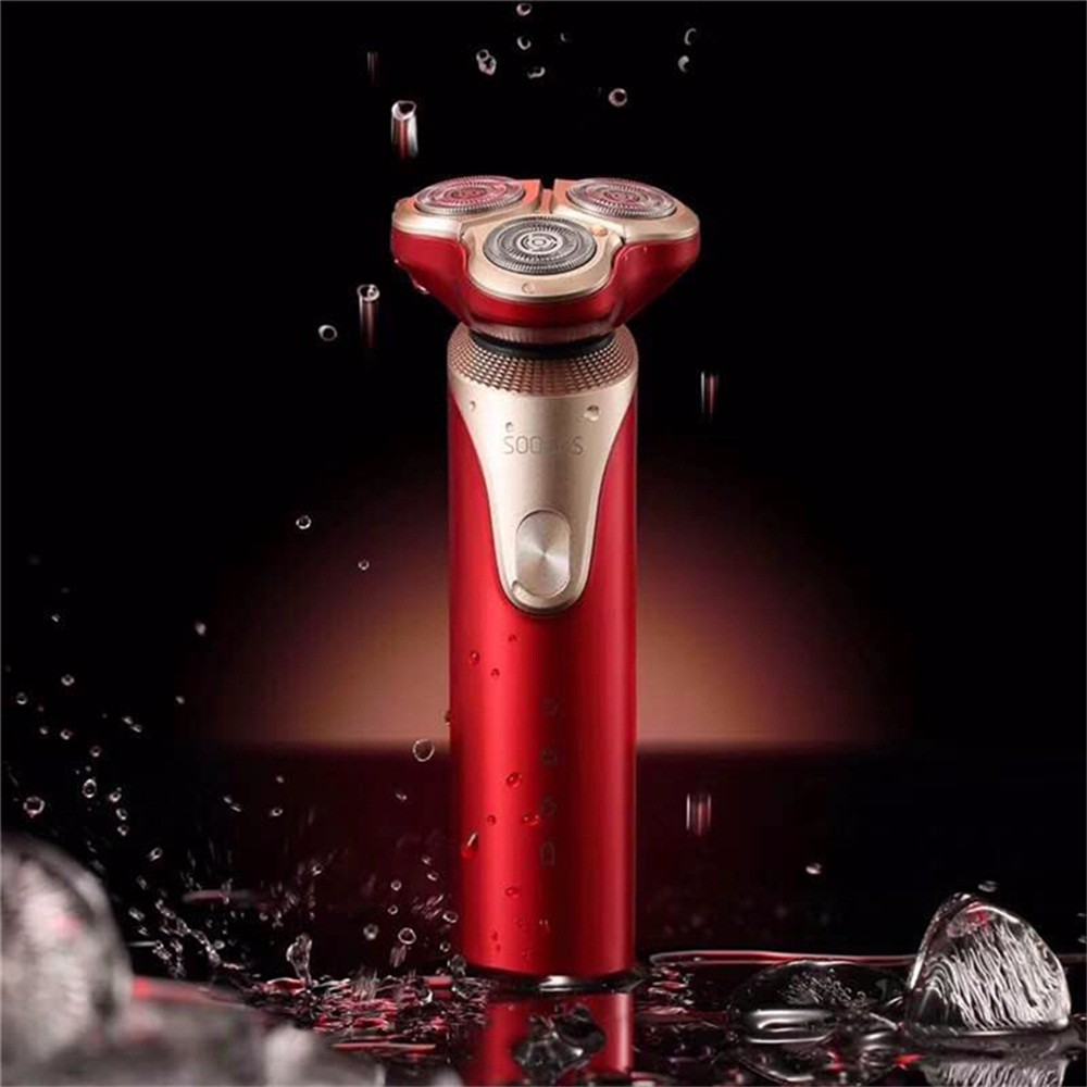 Image 4 - Original Xiaomi Mijia SOOCAS S3 Electric Shaver 3 Cutter Head Floating Shaving USB Rechargeable Waterproof  Razor For Men-in Electric Shavers from Home Appliances