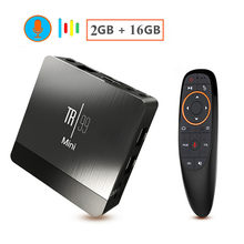 Transpeed Mini Android 8.1 Smart 4K TV BOX Amlogic S905 2G RAM 16G ROM IPTV décodeur Wifi lecteur multimédia TV récepteur Play store(China)