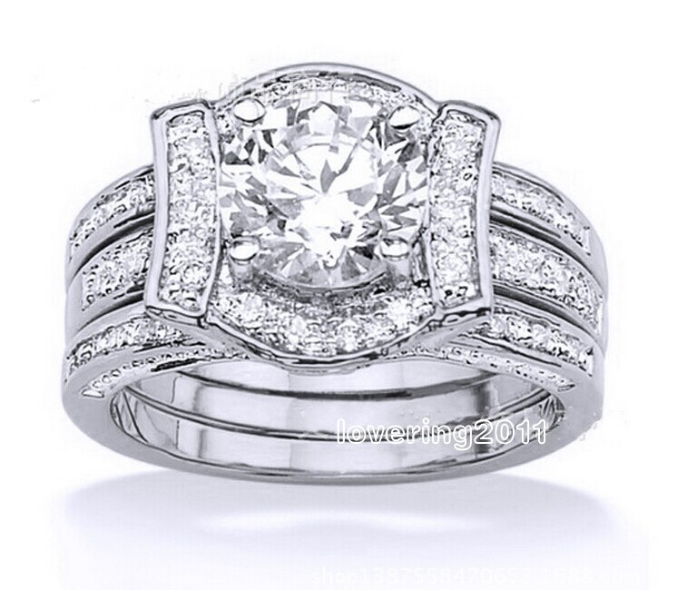 Nice Buy 14kt White Gold Cubic Zirconia Rings And Get Free Shipping On  AliExpress.com