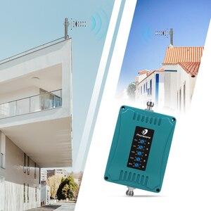 Image 4 - 2G 3G 4G GSM מהדר 700/900/1800/2100/2600MHz מיני גודל אות סלולארי 70dB נייד מגבר סט עבור להקת 28/8/3/1/7