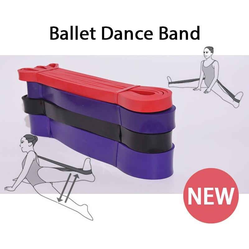 Elastic Band Ballet Band Ballet Soft Opening Back Shoulder Foot Stretch Gymnastic Yoga Pilates Training Ballet Dance Resistance rockspace eb30