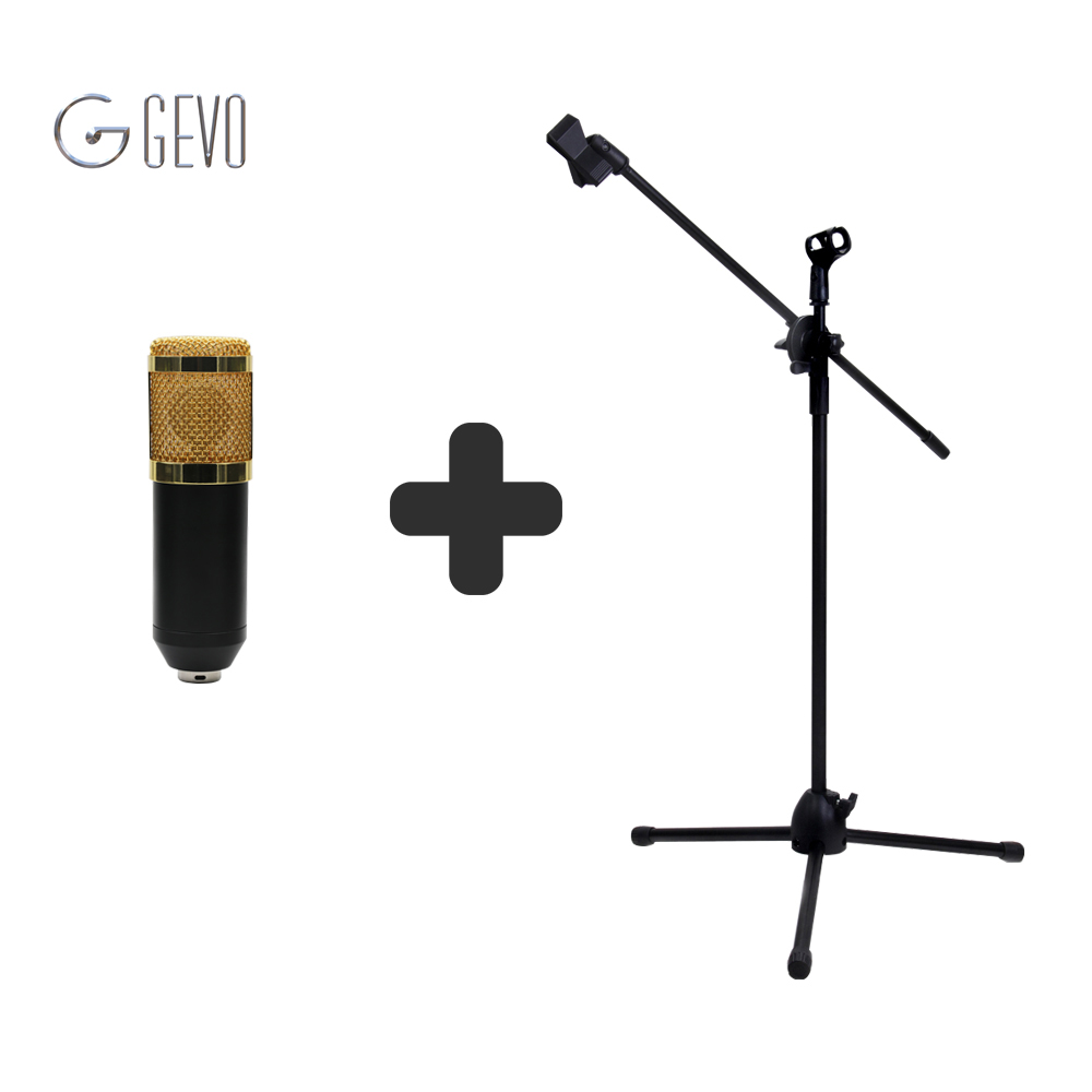 BM-800 3.5mm Wired Sound Recording Condenser Microphone With NB-107 Microphone Stand for Radio Braodcasting Computer heat live broadcast sound card professional bm 700 condenser mic with webcam package karaoke microphone