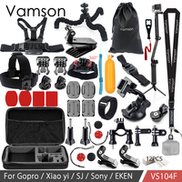 Vamson For Gopro Accessories Set For Eken H9R For Gopro Hero 6 5 4S Mount Selfie
