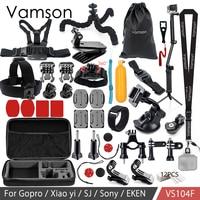 Vamson For Gopro Accessories Set For Eken H9R For Gopro Hero 6 5 4S Mount Selfie
