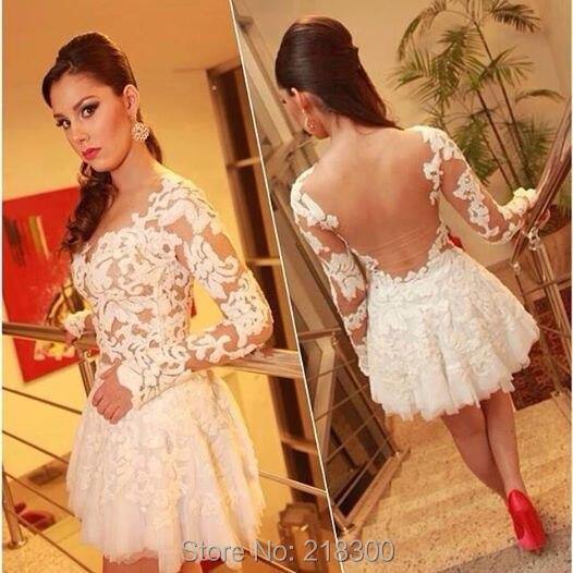 Images of Backless Short Dress - Reikian
