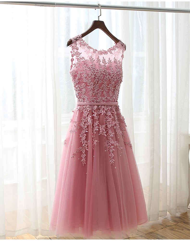 Compare prices on blushing pink bridesmaid dresses online 2017 blush pinkwhiteburgundy bridesmaid dresses scoop see through lace beads knee length ombrellifo Images
