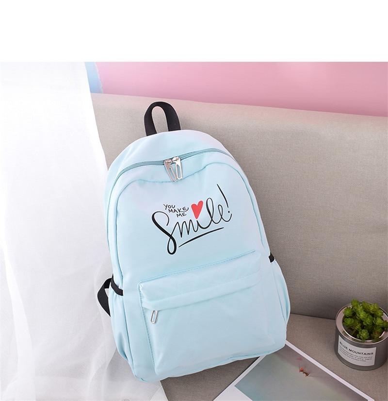 (9)sac à dos pour filles adolescentes