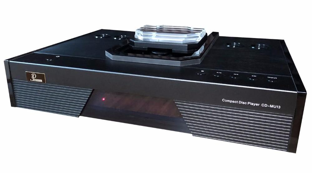 CD-MU13 professional HIFI CD player Push cover Real amplifier balance output decoder CD/USB player compact disc player shanling cd t2000 hifi cd player hi end vacuum tube cd player pcm1792 24bit 192khz coaxial usb dac xlr output
