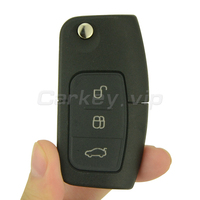 Remotekey 2pcs Flip Remote Car Key For Ford B Max Fiesta Focus Galaxy S Max 2008
