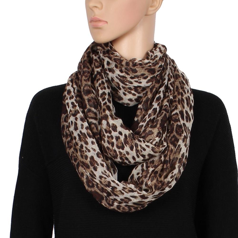 Nueva moda para mujer Súper Suave Ligero Café Leopardo Animal Print - Accesorios para la ropa - foto 4