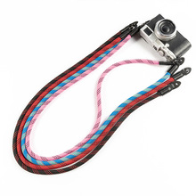 New Durable Hand-woven Nylon rope Wrist Strap Hand Band fit for Leica  Shoulder Belt ILDC Retro Lanyard