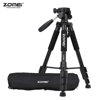 ZOMEI Q111 Professional Portable Travel Aluminum Camera Tripod&Pan Head for SLR DSLR Digital Camera