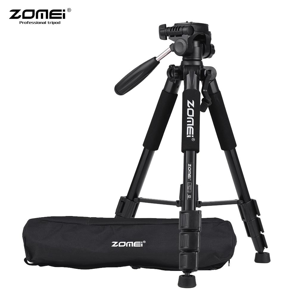 ZOMEI Q111 Professionnel Portable Voyage trépied d'appareil photo en aluminium et Pan Tête pour REFLEX DSLR appareil photo numérique