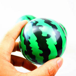 Ball Kids Bouncing-Ball Plastic-Toys Air-Stress Baby Watermelon Outdoor Inflatable Children's
