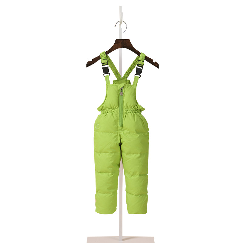 Children Boys Winter Jumpsuit Down Overalls For Girls 1 7 Years Kids Waterproof Overalls Toddler Baby Girl Pants Infant Clothing