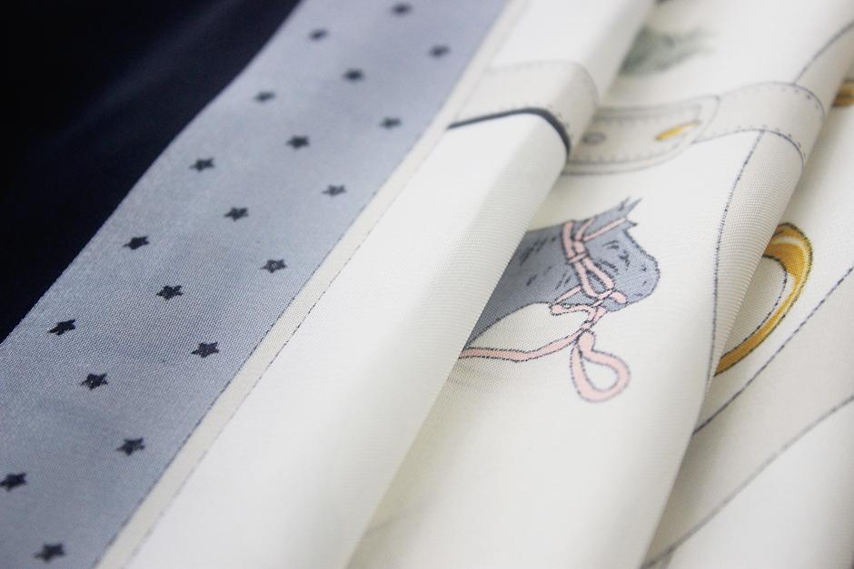 Small Animal Print Scarf  IMG_0063