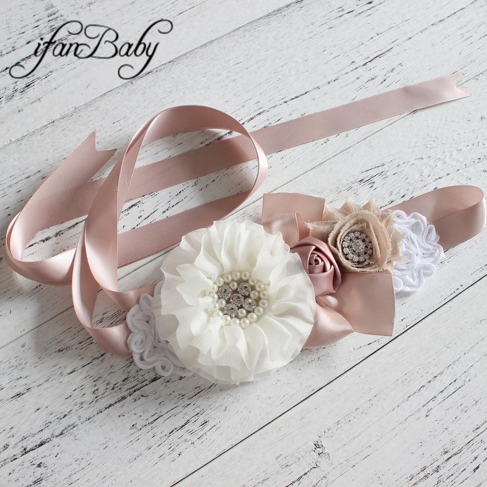 Fashion flower   Belt   Woman Girl Sash   Belt   Wedding Sashes   belt