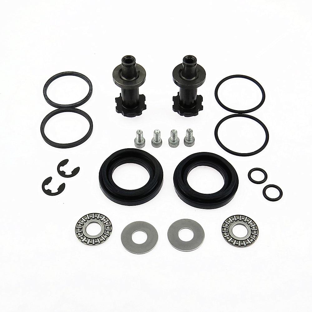 DOXA 32332082 2Set 12 Teeth Handbrake Pump Motor Brake Caliper Screws Kit For A5 A6 Q3 VW CC Passat B6 B7 Seat Alhambra Tiguan
