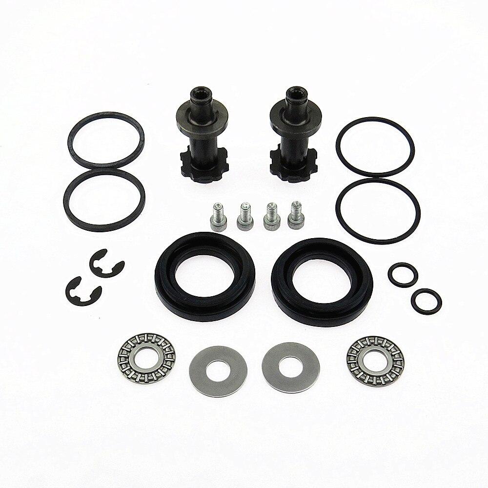SCJYRXS 32332082 2 satz 12 Zähne Handbremse Pumpe Motor Bremssattel Schrauben Kit Für A5 A6 Q3 CC Passat B6 b7 Seat Alhambra Tiguan