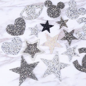 Iron on Patches Sewing Accessories Rhinestone Applique 5c4ea19ef206