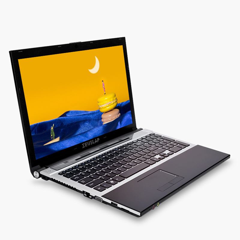 15.6inch Intel Dual Core I7 8GB RAM 512GB SSD 2TB HDD 1920x1080P WIFI Bluetooth DVD Rom Windows 10 Notebook PC Computer Laptop