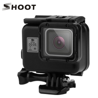 SHOOT 40m Underwater Waterproof Case For GoPro Hero 6 5 Black Action Camera Diving Protective Cover