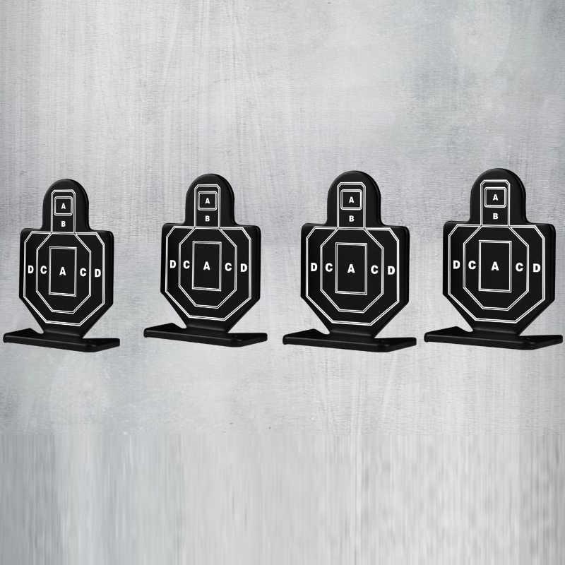 4 قطعة/الوحدة تبادل لاطلاق النار الأهداف في الهواء الطلق الصيد اطلاق النار الهدف مجموعة الادسنس التكتيكية دائم الرماية عدة مفيدة الهدف