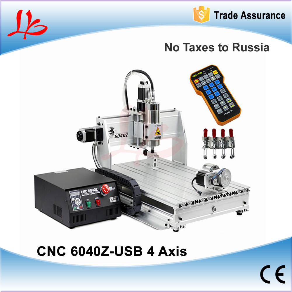No Tax to Russia Ukraine, CNC Engraving Machine CNC 6040 With Mach3 Wireless Remote Control, CNC Wood Router Engraver 1.5KW no tax to eu 2 2kw 8060 cnc machine 3axis metal engraving router 4000mm min with usb port and mach3 remote control