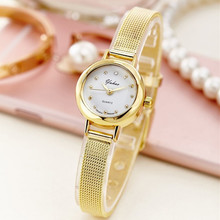 Fashion brief small watches women's bracelet watch casual commercial steel ladies watch