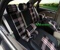 Veeleo + 6 Colores Cubre Fundas de Asiento de Coche Universal Para Citroen C3 c3 C4 C5 Elysee 3D Tela de Lino Car-Styling Envío Gratis