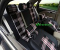 Veeleo + 6 Cores Universal Cobre Tampas de Assento Do Carro Para Citroen C3 C4 C5 C Elysee 3D Tecido De Linho-Car Styling Frete Grátis