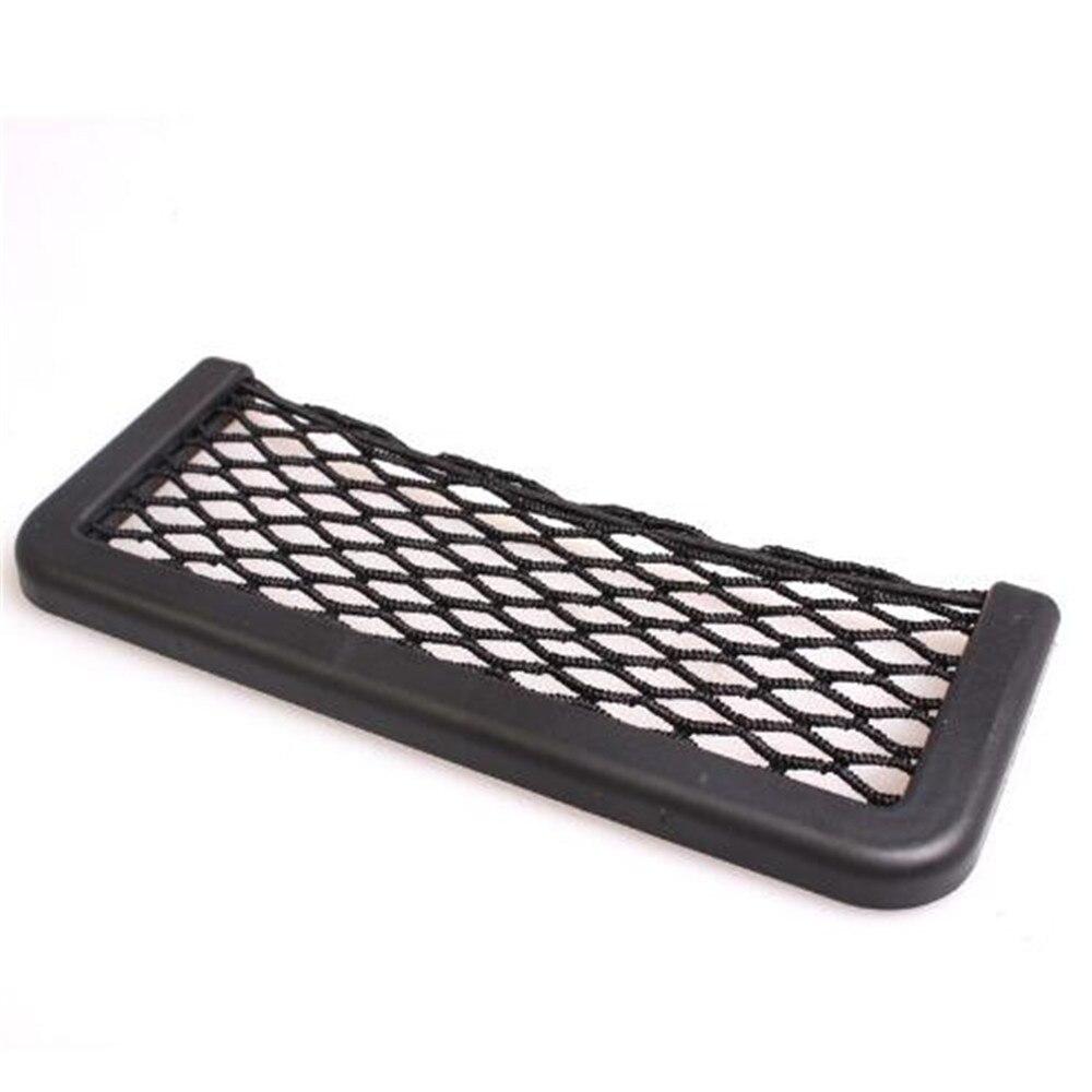 Universal Big 20*8 CM Black Car Seat Side Net Storage Bag Pocket For Mini Cooper R56 R57 R58 R50 R53 F55 F56 Jaguar