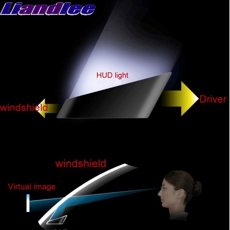 Liandlee メルセデスベンツ SL 一眼レフ MB R230 R231 C199 R199 2001 〜 2018 Onwork HUD ビッグモニター車の速度プロジェクターフロントガラス車両