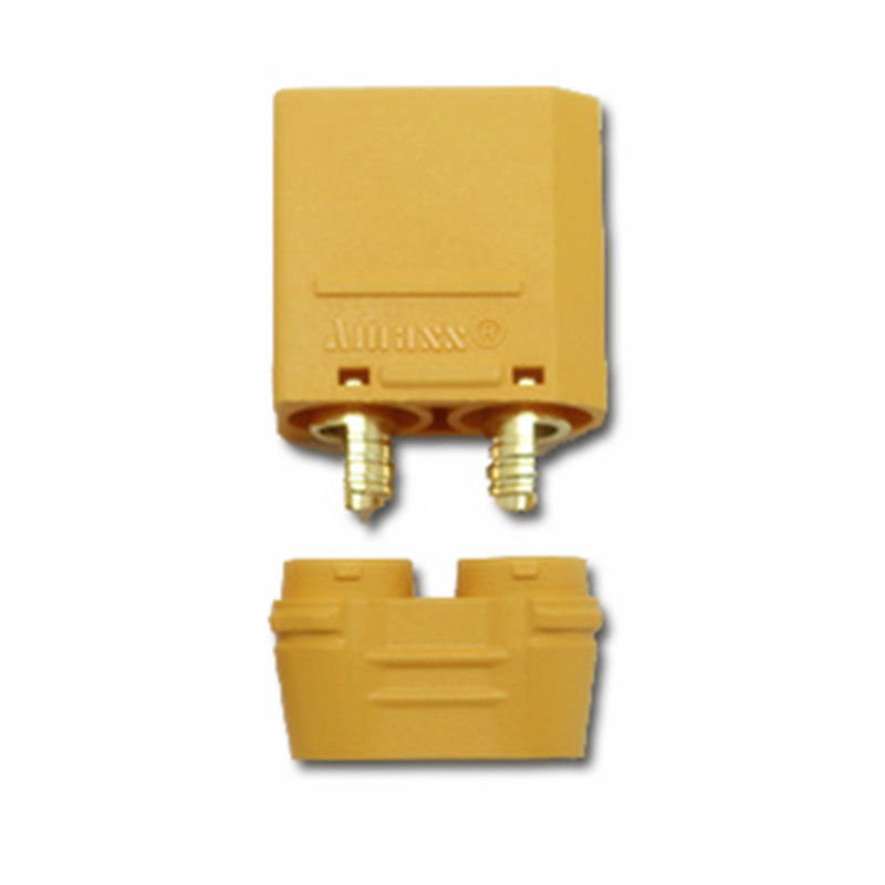 Newest  Amass XT90 XT90-S Anti Spark  Battery Connector Male Female Gold Plated Banana Plug  FPV Drone Battery ConnectorNewest  Amass XT90 XT90-S Anti Spark  Battery Connector Male Female Gold Plated Banana Plug  FPV Drone Battery Connector