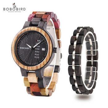 montre femme BOBO BIRD Wooden Women Watches Bracelet Set High Quality Japan Movement Quartz Watch in Wood Box reloj mujer - DISCOUNT ITEM  40 OFF Watches