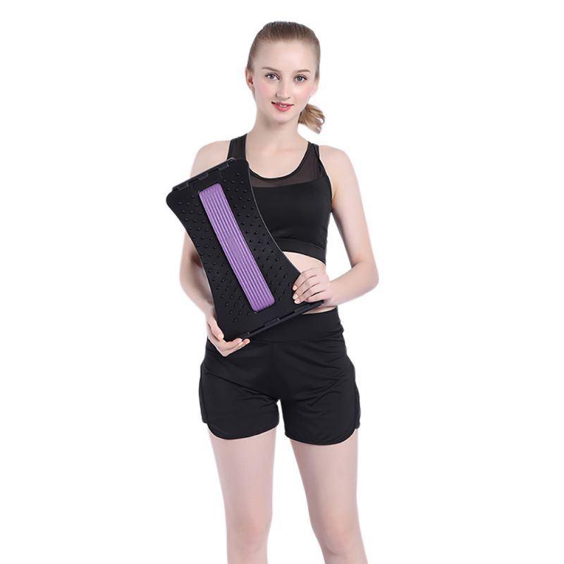 Spine Pain Relief Lumbar Traction Stretching Device Spine Relaxed Back Massage Board Prevention Lumbar Hernia Brace Бюстгальтер