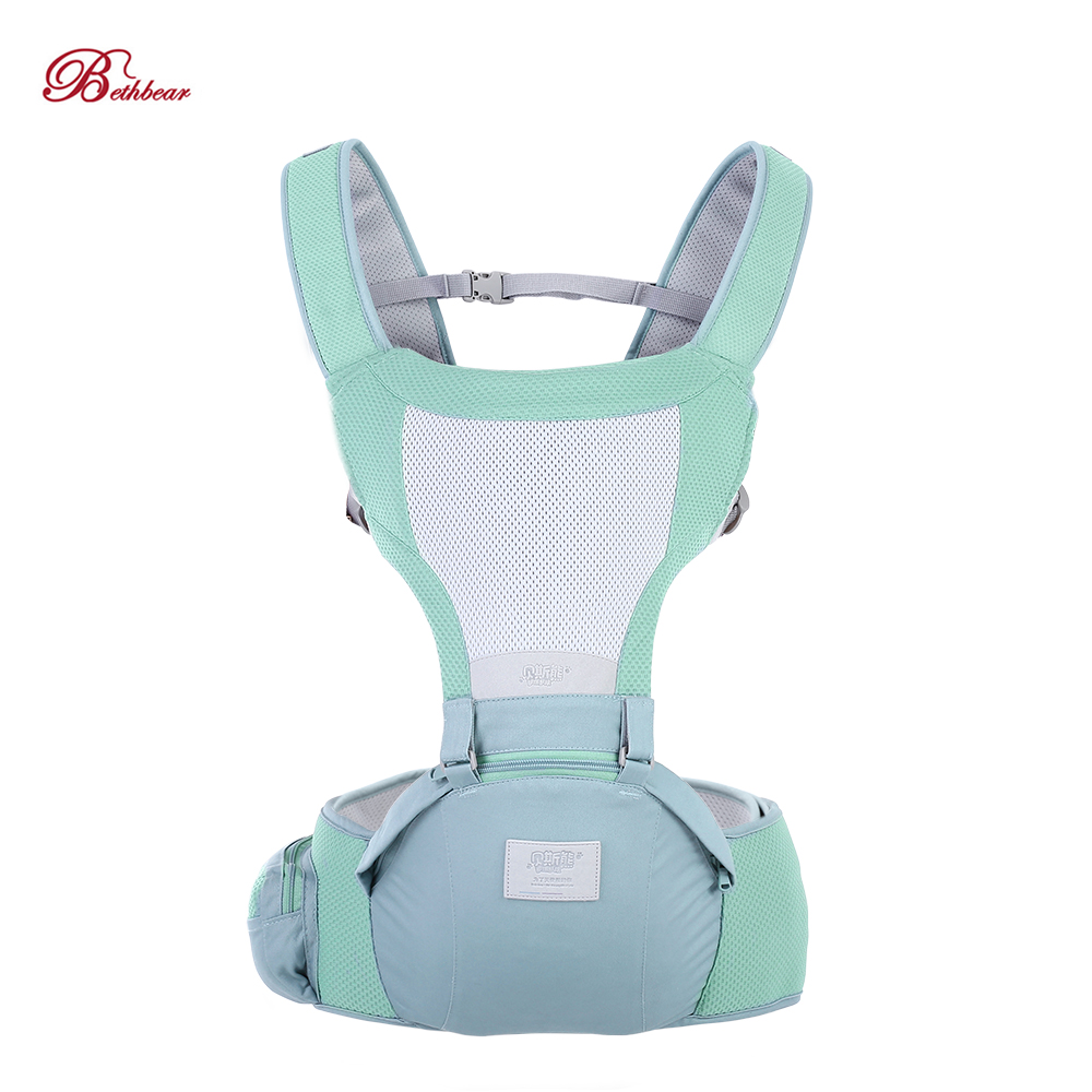 Bethbear 3 In1 Newborn Hip Seat Waist Stool Baby Carrier Infant Sling Backpack