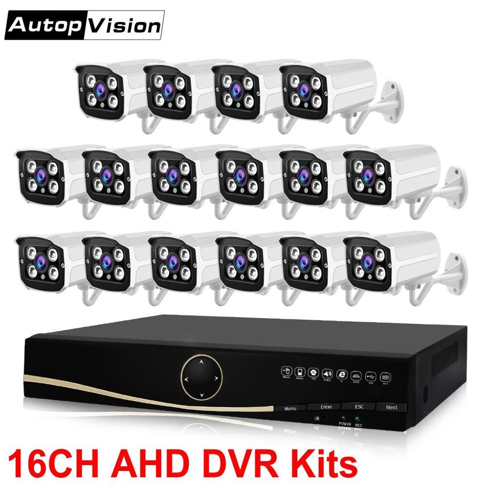LS-AKA2 16CH AHD DVR système 1080 P HDMI CCTV DVR étanche IR extérieur intérieur caméra de sécurité Kit caméras de Surveillance système