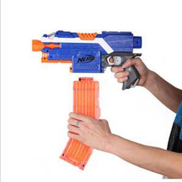 Spielzeug für draußen Worker Mod Banana 15-darts Magazine Clip for Nerf N-strike Elite Toy Clear  S