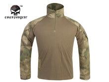 Emersongear G3 Combattimento Shirt Esercito Militare Airsoft Tactical Emerson Militare Camouflage T-Shirt ATFG EM8576
