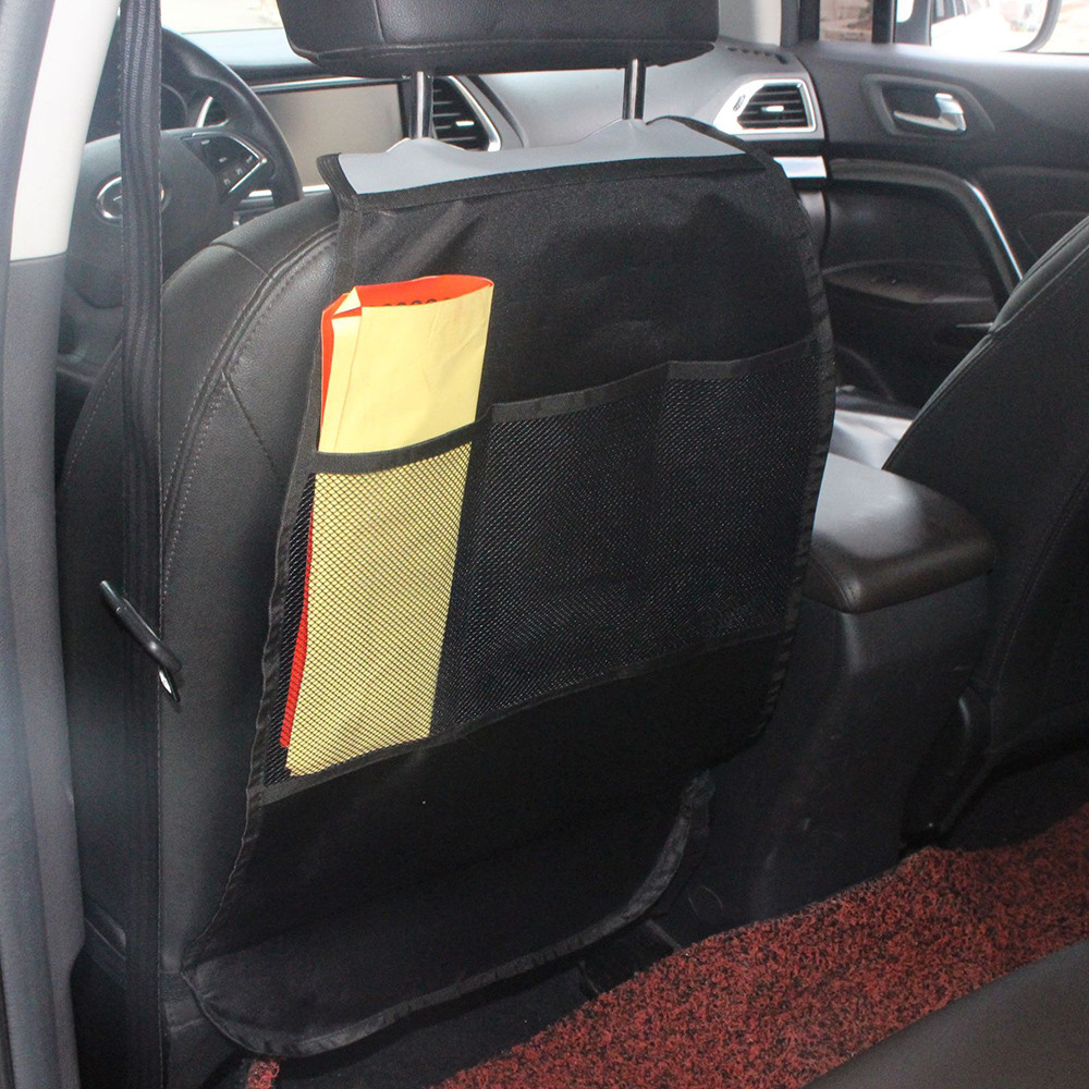 Double Layer Mesh Seat Back Net Bag Backseat In Beverage Bag Mobile Phone Box S