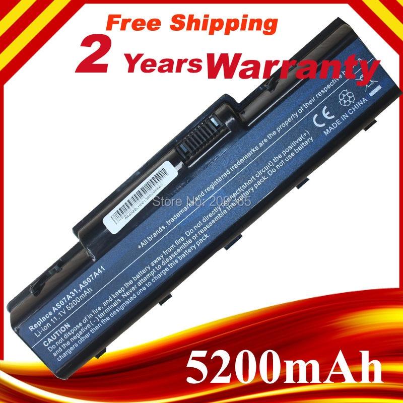 5200mAh Laptop Battery For Acer Aspire 4720 4730 4736 4740G 4920 4930 4935 5236 5241 5334 5335 5338 5536 5735 5738 5740 5740G