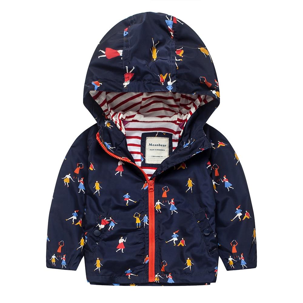 M13 Spring Autumn Fashion Boys Girl Blue Coat Hoodie Child Jacket Girl Tops Windbreaker Autumn Child Thin Coat Child Thin Jacket цена и фото