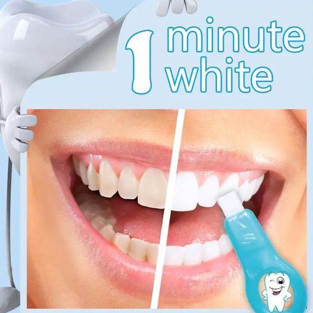 Teeth Whitening Kit Pembersih Gigi Sikat Gigi Noda Remover