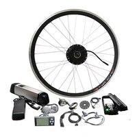 Easy Install Kettle Battery e bike conversion kit Front Wheel Motor 250W/350W/500W power Optional JSE 091