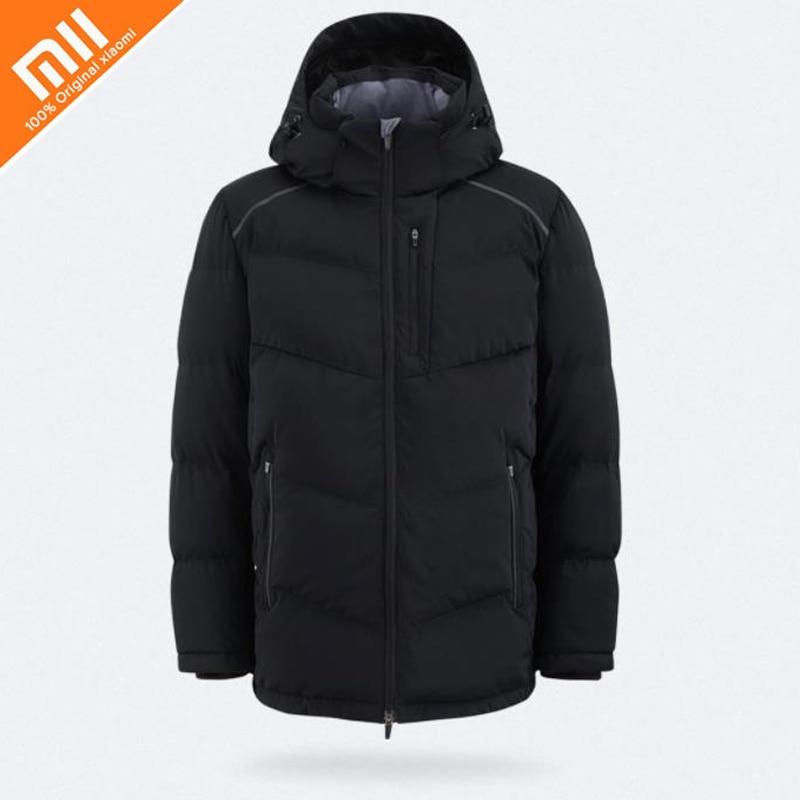 Оригинальный xiaomi mijia MITOWN LIFE вязаный слинг пуховик ветрозащитная теплая непромокаемая зимняя куртка Мужское пальто пуховик Лидер продаж